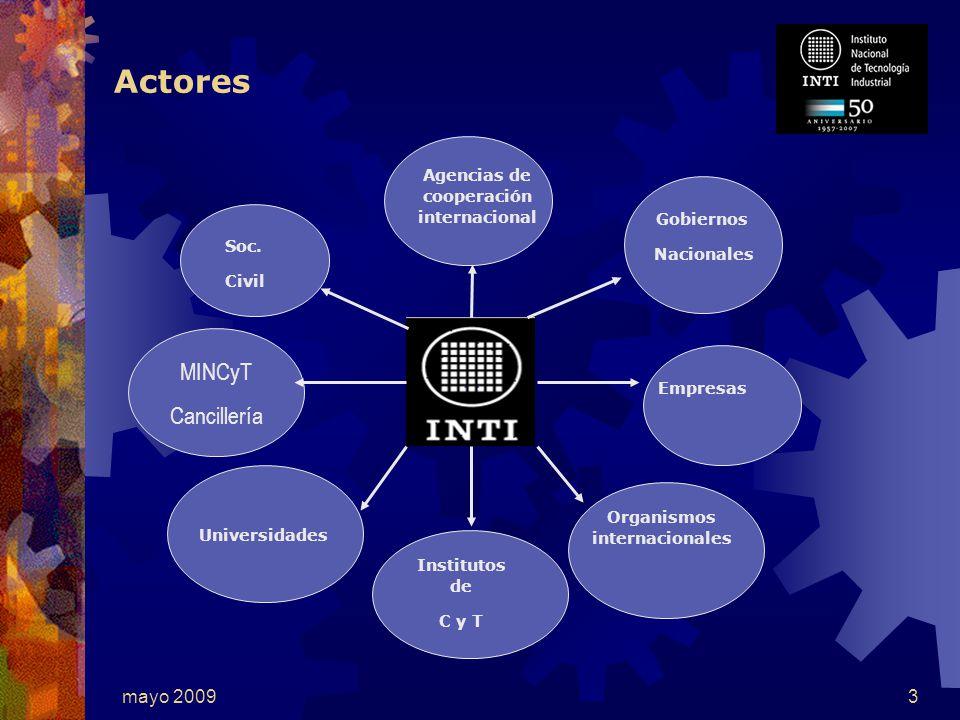 mayo 20093 Actores Gobiernos Nacionales Empresas Soc.