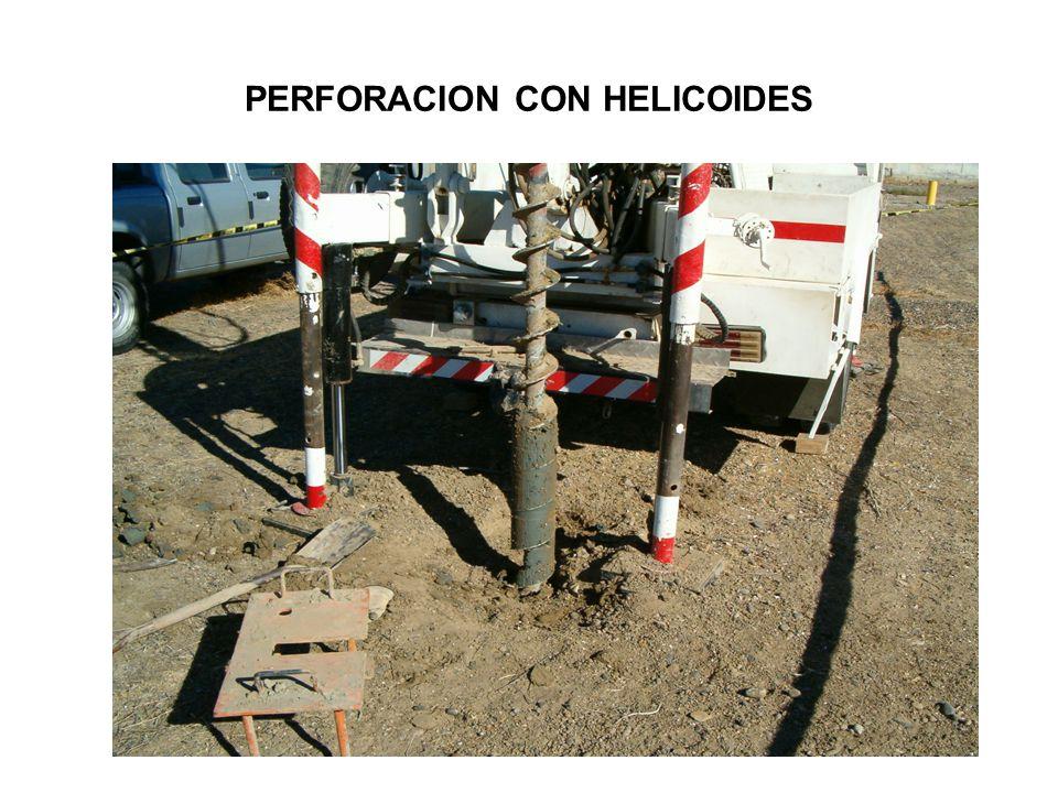 PERFORACION CON HELICOIDES