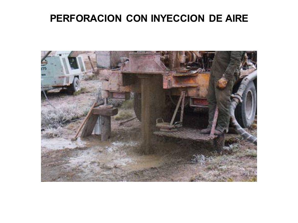 PERFORACION CON INYECCION DE AIRE