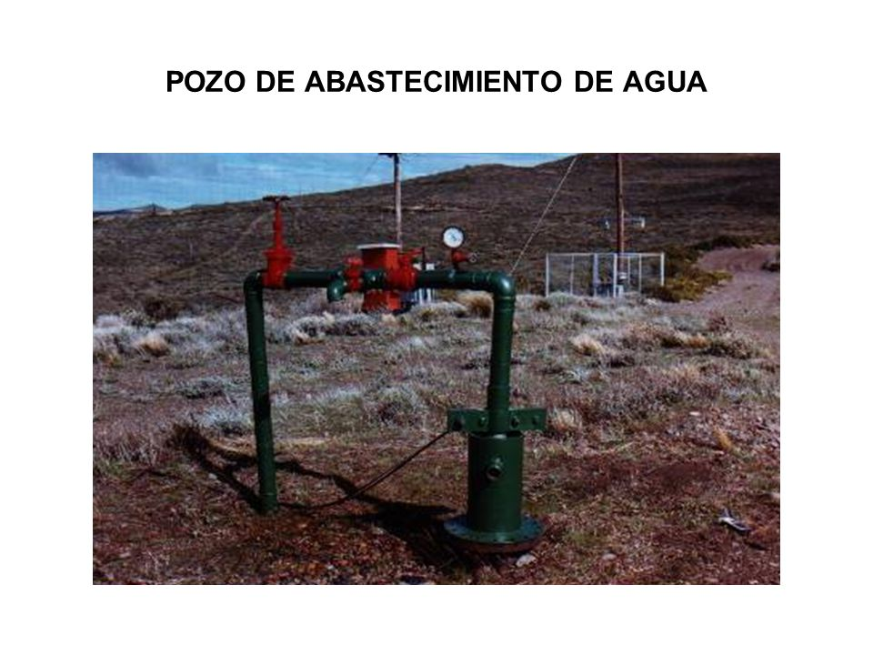 POZO DE ABASTECIMIENTO DE AGUA