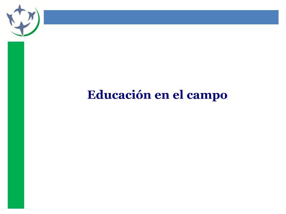 Educación en el campo