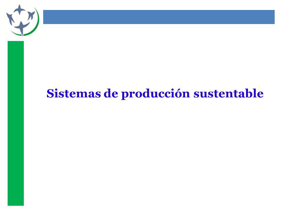 Sistemas de producción sustentable