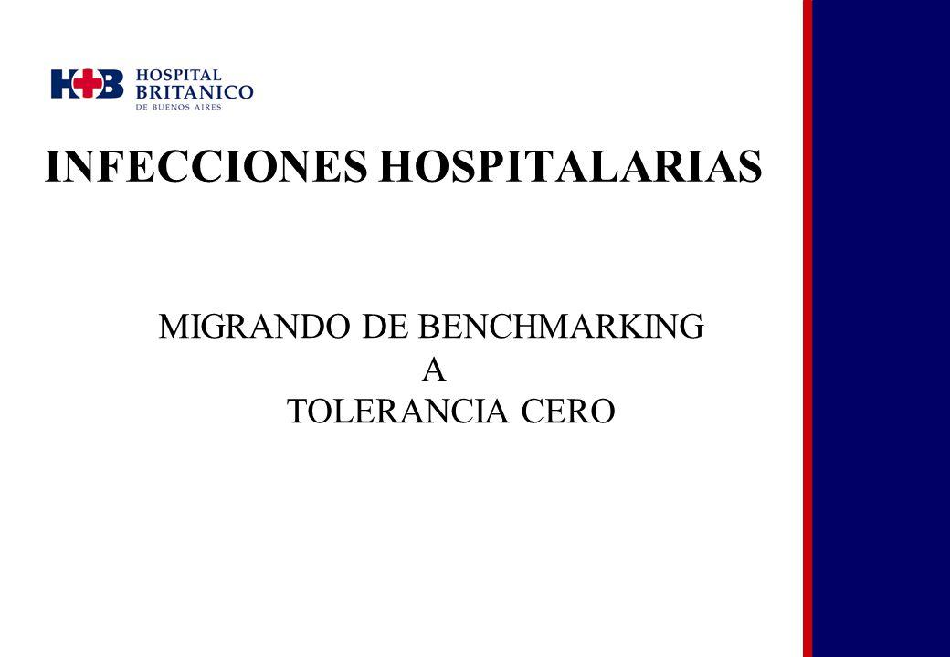 INFECCIONES HOSPITALARIAS MIGRANDO DE BENCHMARKING A TOLERANCIA CERO
