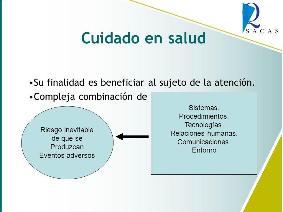 Enfermería, Calidad y un Cuidado seguro. Lic. Andrea Sterzen – Lic. Mónica Fernández Grupo Oroño – Rosario – Santa Fe 18 de Septiembre de 2008