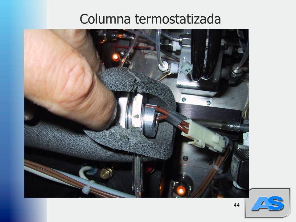 44 Columna termostatizada