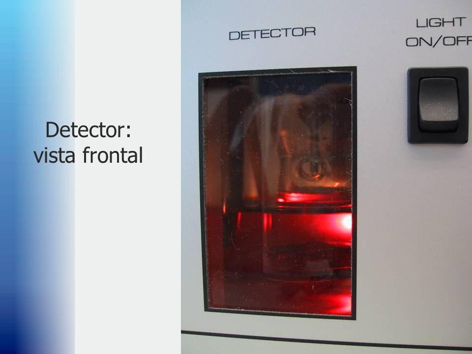 47 Detector: vista frontal