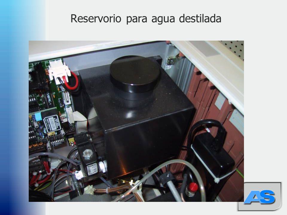 49 Reservorio para agua destilada