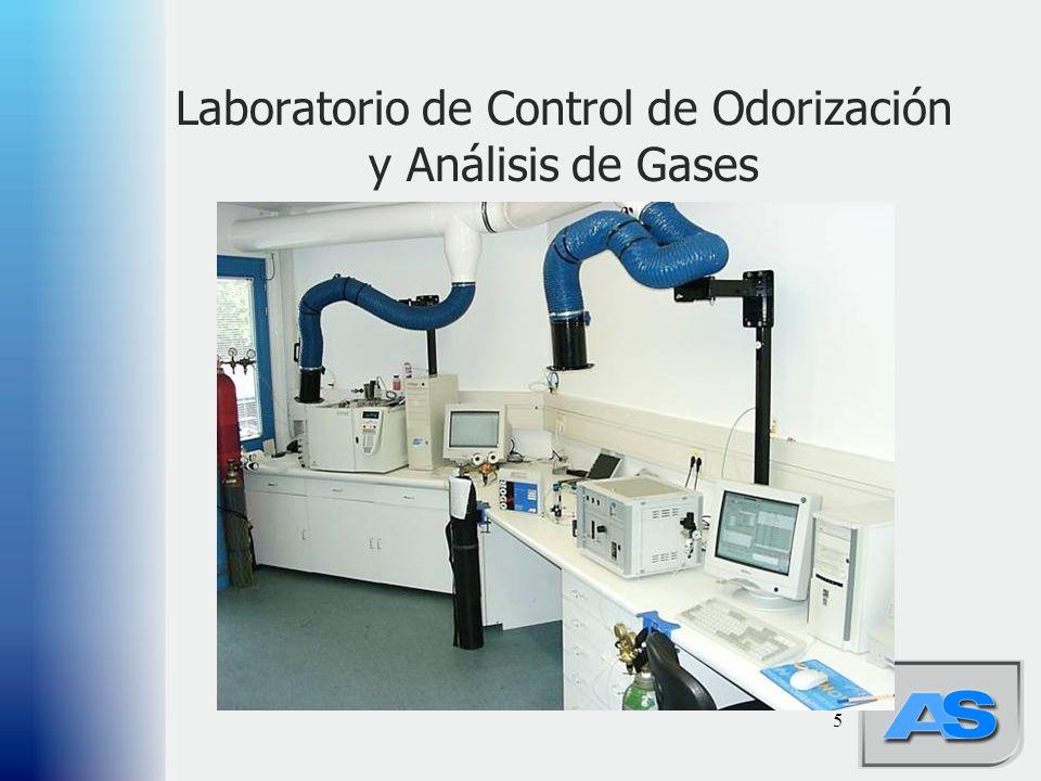 5 Laboratorio de Control de Odorización y Análisis de Gases