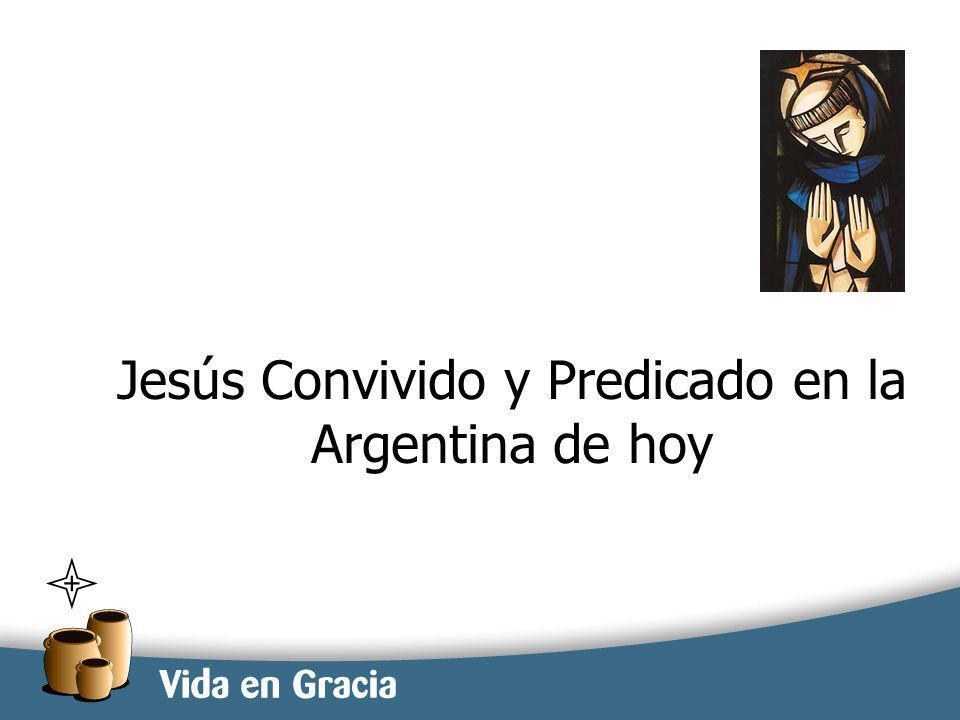 restevez@domingo.org.ar1 Jesús Convivido y Predicado en la Argentina de hoy