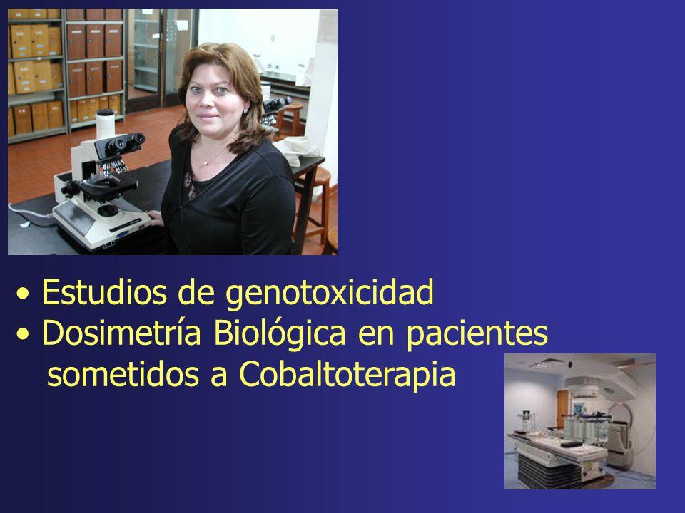 Estudios de genotoxicidad Dosimetría Biológica en pacientes sometidos a Cobaltoterapia