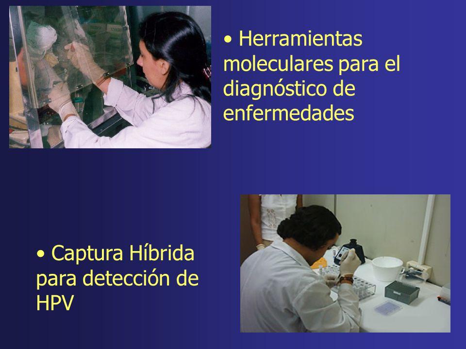 Herramientas moleculares para el diagnóstico de enfermedades Captura Híbrida para detección de HPV
