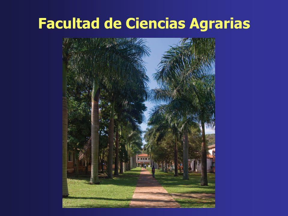 Facultad de Ciencias Agrarias