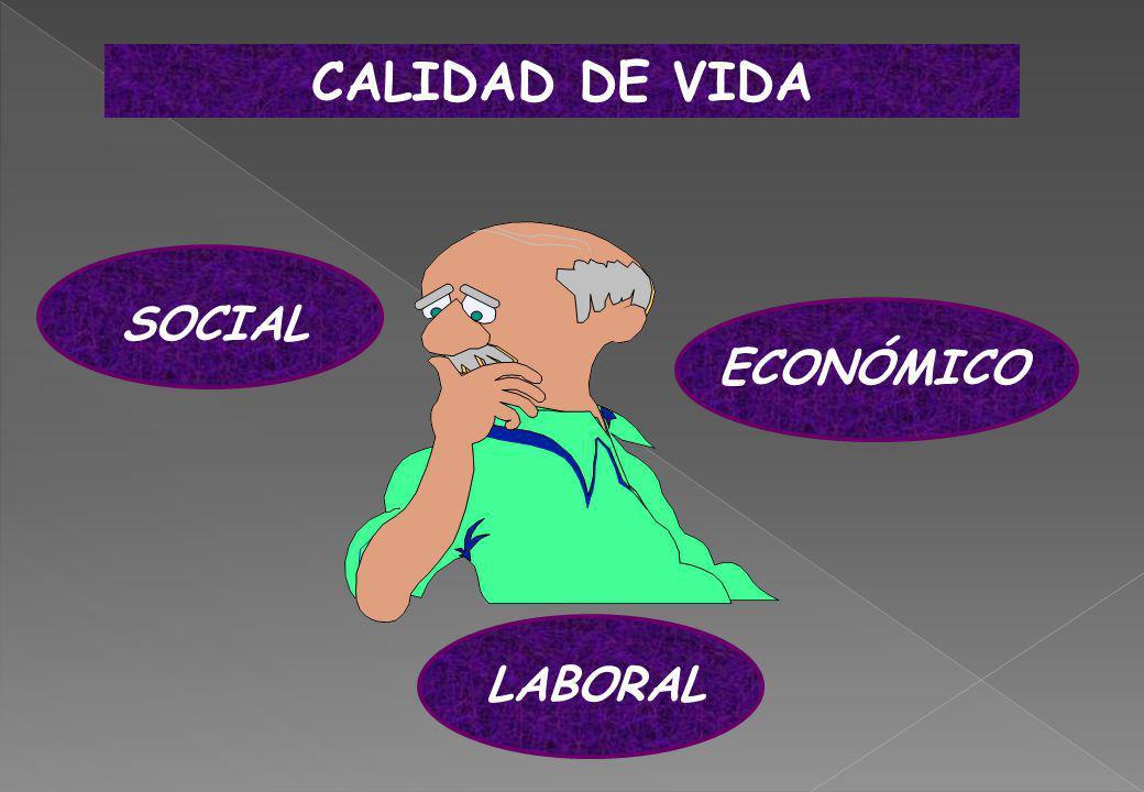 CALIDAD DE VIDA SOCIAL ECONÓMICO LABORAL