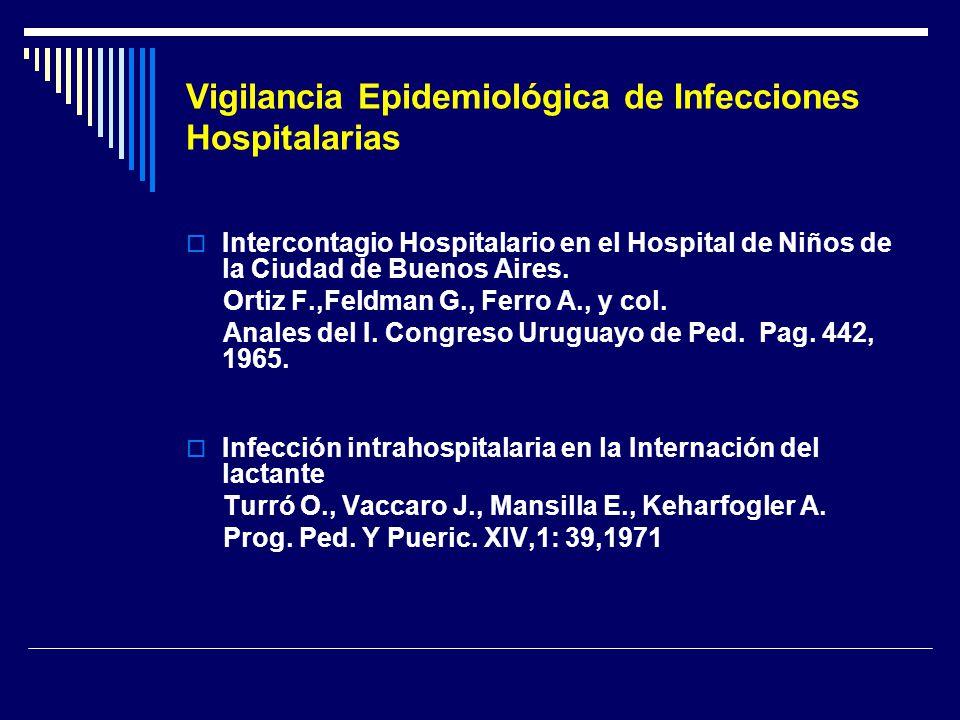 Vigilancia Epidemiológica de Infecciones Hospitalarias Intercontagio Hospitalario en el Hospital de Niños de la Ciudad de Buenos Aires. Ortiz F.,Feldm