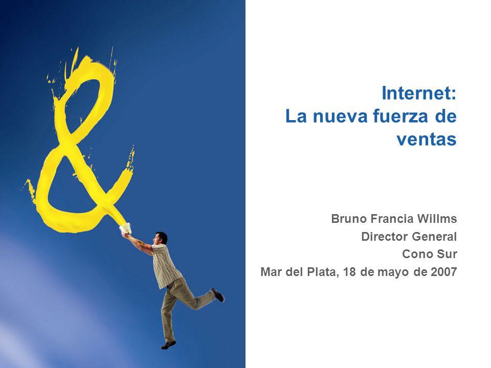 Penetración de Internet Nota: 2006 – 2008 son estimaciones Fuente: PhoCusWright Inc., Mayo de 2006