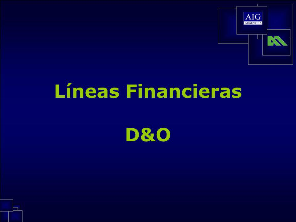 Líneas Financieras D&O
