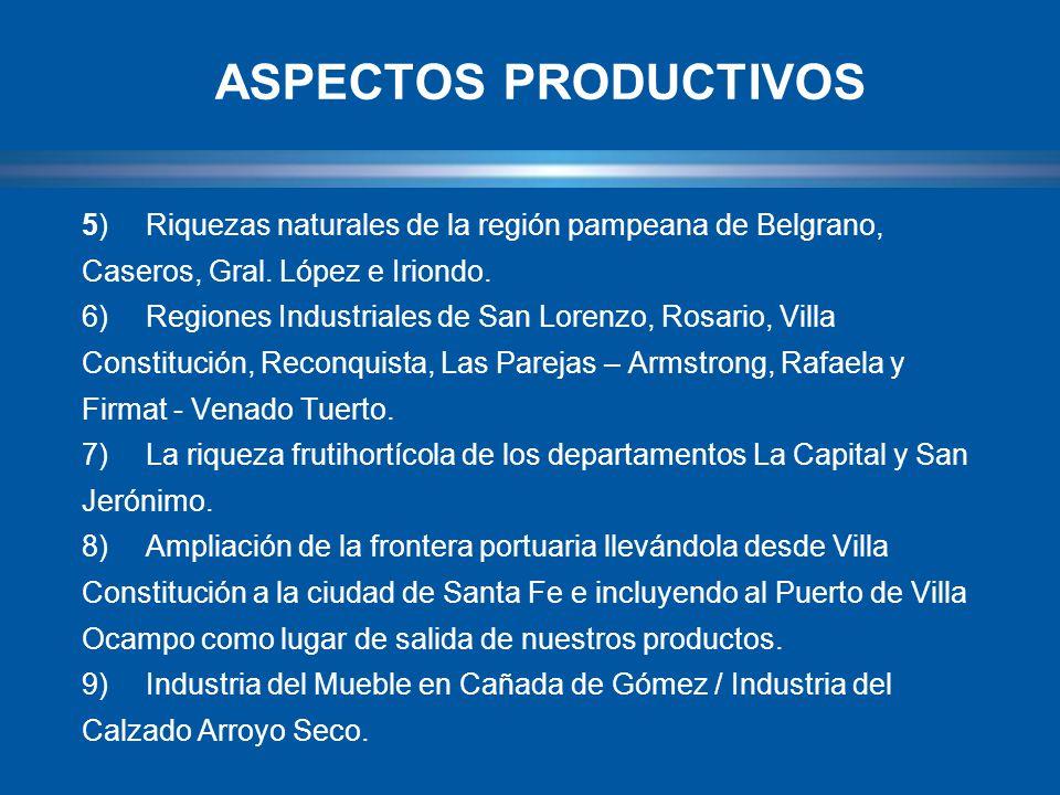 5)Riquezas naturales de la región pampeana de Belgrano, Caseros, Gral.