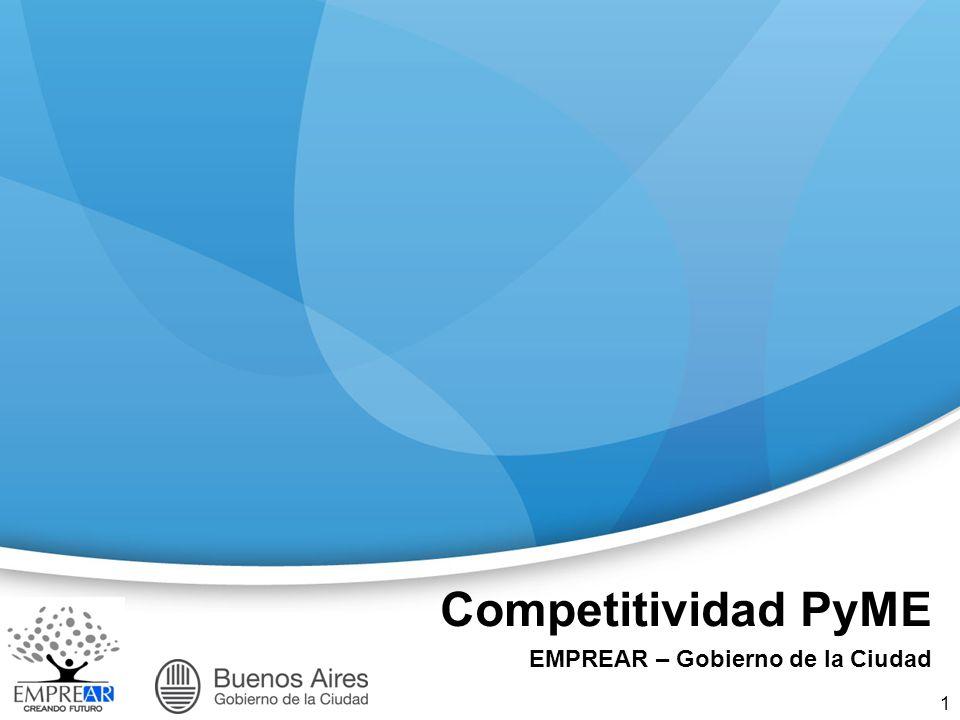 Competitividad PyME EMPREAR – Gobierno de la Ciudad 1