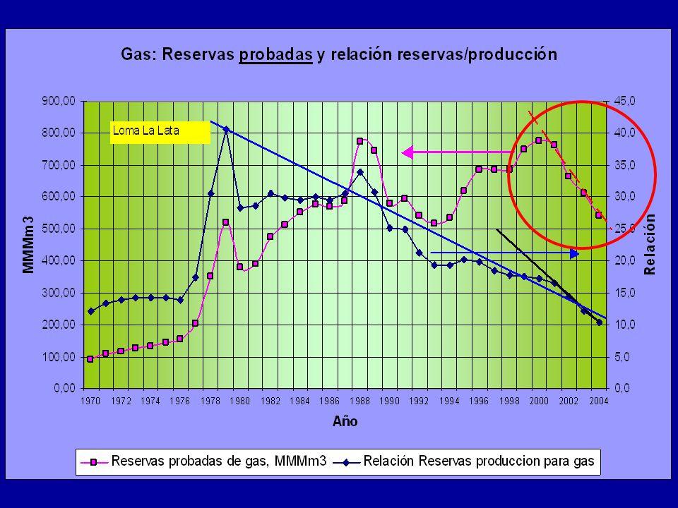 a) el actual gasoducto de Bolivia, ampliado a 12 millones de m3 diarios (obra en ejecución) b) Se lleva a cabo el proyecto de gasoducto del NEA, con una capacidad final de 30 millones de m3 diarios c) Se construye otro gasoducto de Bolivia, o se trae gas desde Venezuela a partir de 2012, con una capacidad mínima de otros 30 millones de m3 diarios Sumando el gas local con el gas importado, se compara con la demanda de gas más FO equivalente a gas.