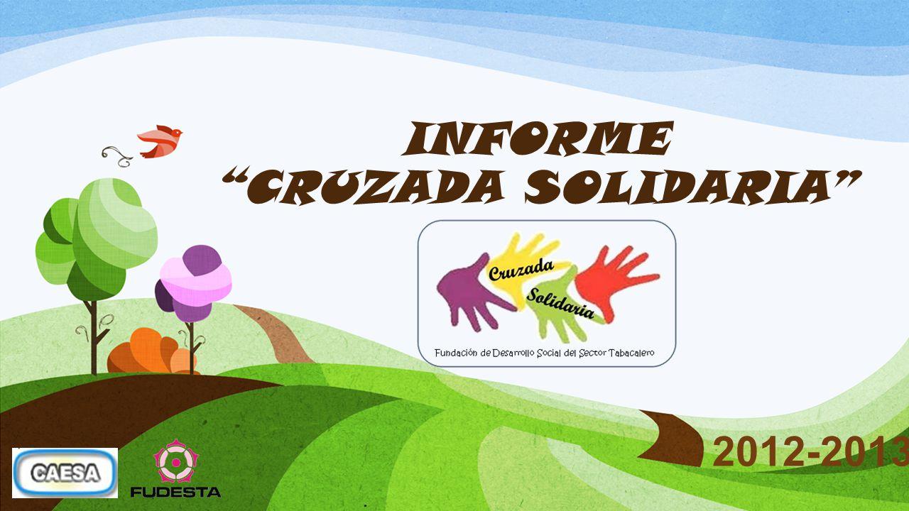 INFORME CRUZADA SOLIDARIA 2012-2013