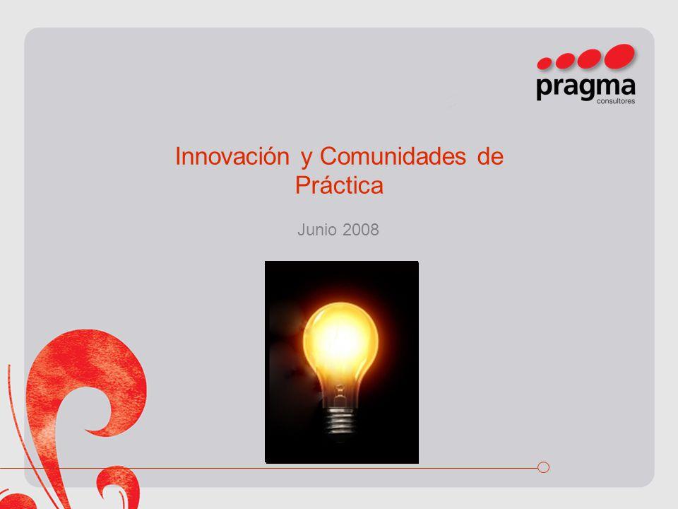 Innovación y Comunidades de Práctica Junio 2008