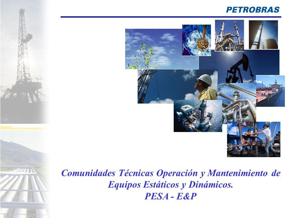 Comunidades Técnicas Operación y Mantenimiento de Equipos Estáticos y Dinámicos. PESA - E&P