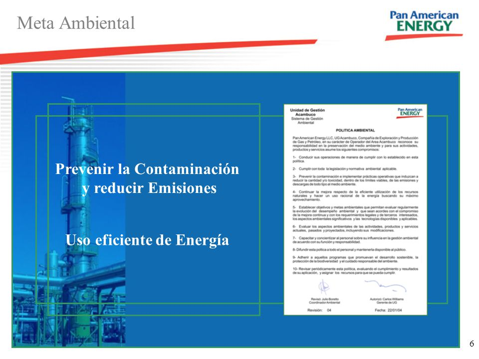 7 Optimizar el Uso de energía ISO-14000 Sistema de Gestión Ambiental P.G.A N°23 Optimización Reducir Emisiones Disminuir Costos operativos Maximizar ganancias Indicadores Consumo específico de gas combustible Emisiones de CO2 Seguimiento presupuestario