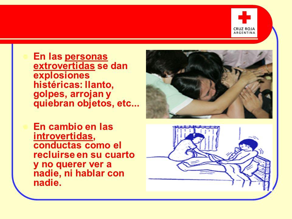 2) LA DESORGANIZACIÓN DE SI MISMO: La persona se deja llevar por las emociones y no puede controlarla.