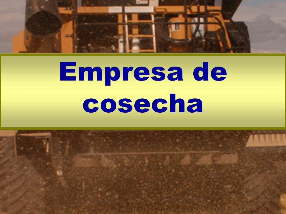 Empresa de cosecha