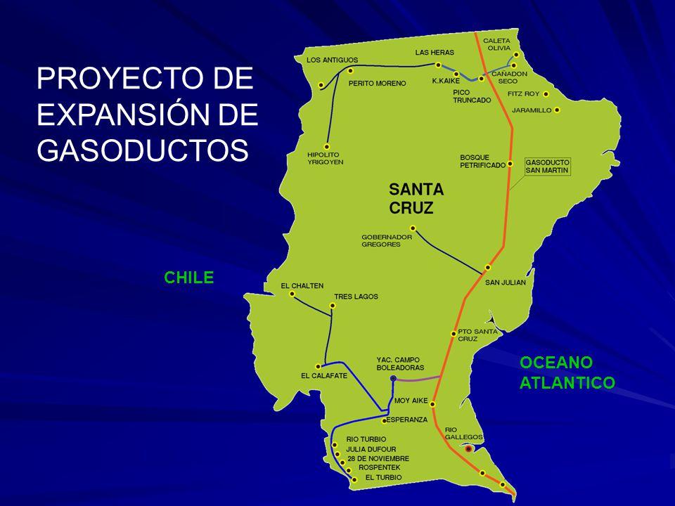 CHILE OCEANO ATLANTICO PROYECTO DE EXPANSIÓN DE GASODUCTOS