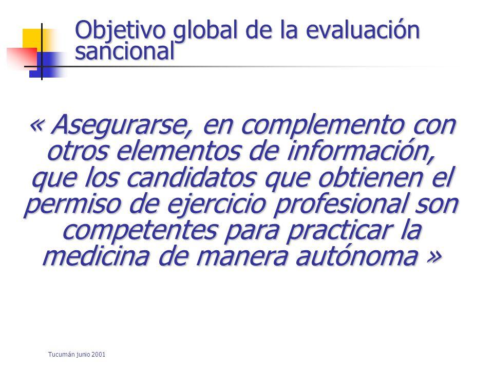 Tucumán junio 2001 CPM Van derVleuten Ad.in Health Sc.