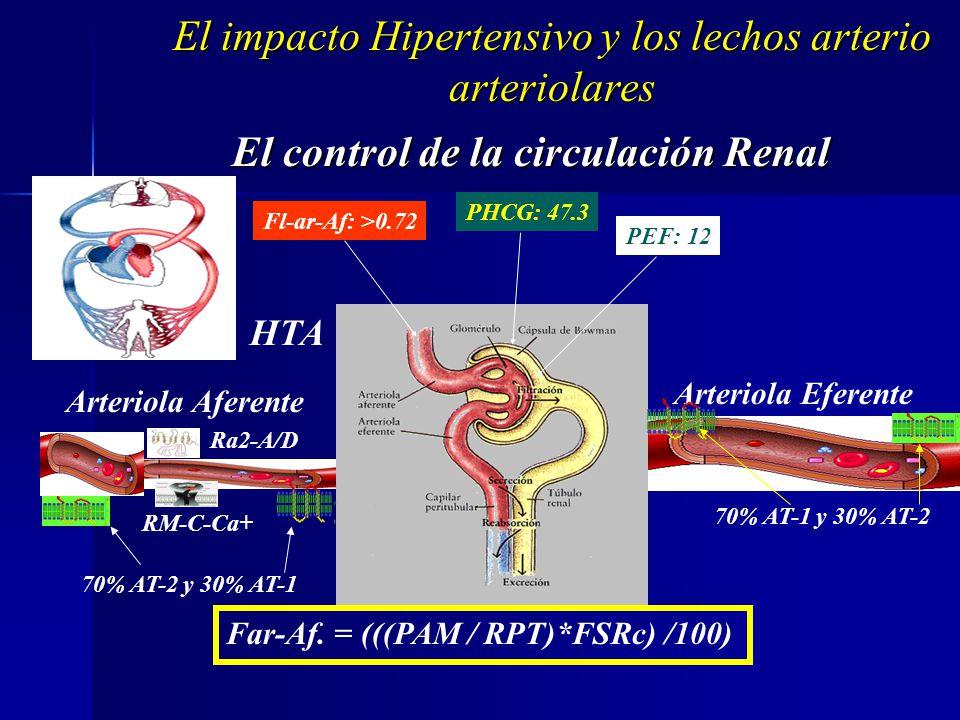 Impacto sobre Organo Blanco y Conductas Terapeuticas en HTA. Caracteristicas de la adaptación con cámaras chicas Impacto sobre Organo Blanco y Conduct
