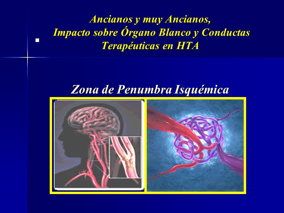 Fracazo de la Autorregulación Fracazo de la Autorregulación Ancianos y muy Ancianos, Impacto sobre Órgano Blanco y Conductas Terapéuticas en HTA HTA V
