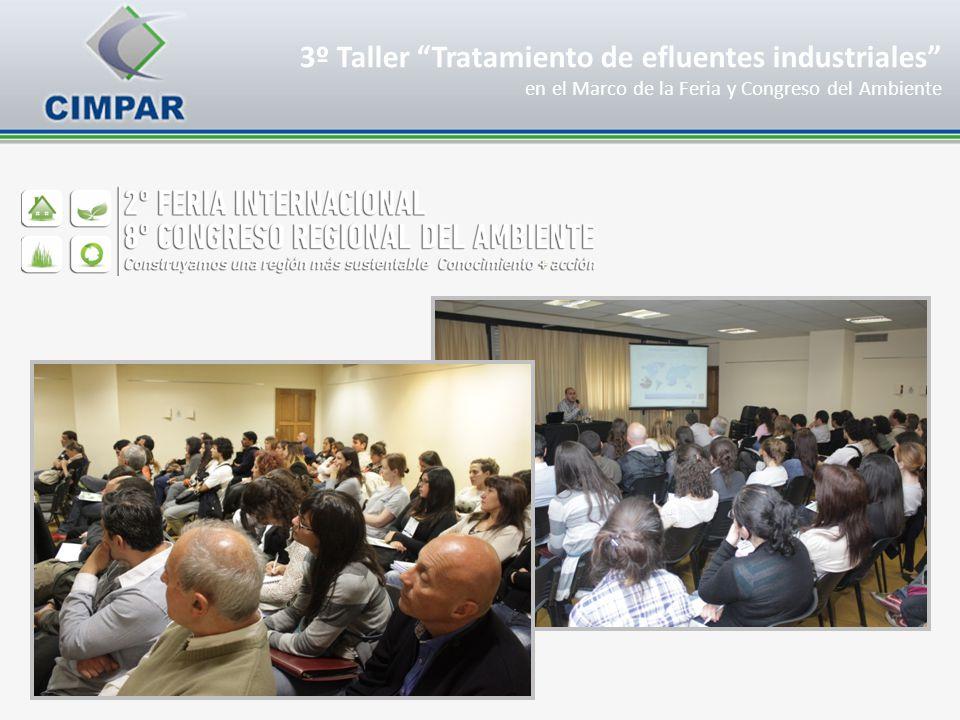 3º Taller Tratamiento de efluentes industriales en el Marco de la Feria y Congreso del Ambiente