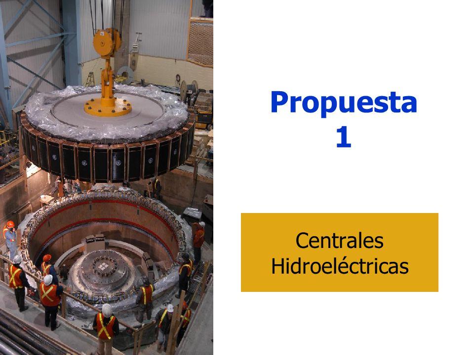 Propuesta 1 Centrales Hidroeléctricas