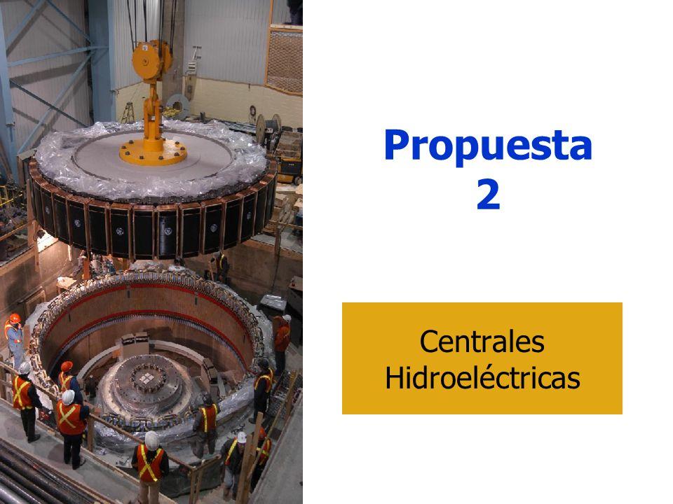 Propuesta 2 Centrales Hidroeléctricas