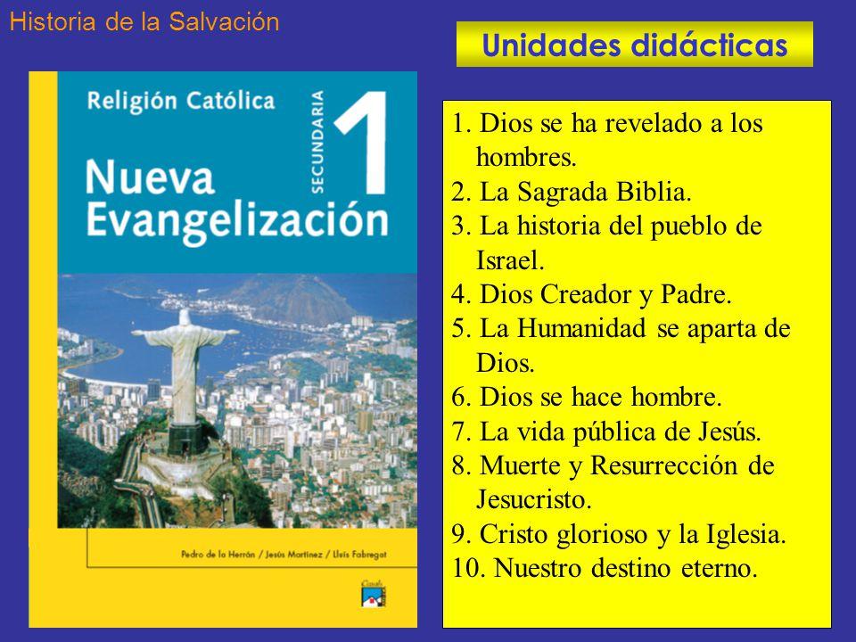 1.Dios se ha revelado a los hombres. 2. La Sagrada Biblia.