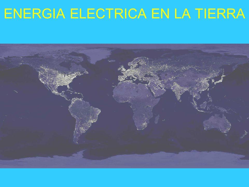 ENERGIA ELECTRICA EN LA TIERRA