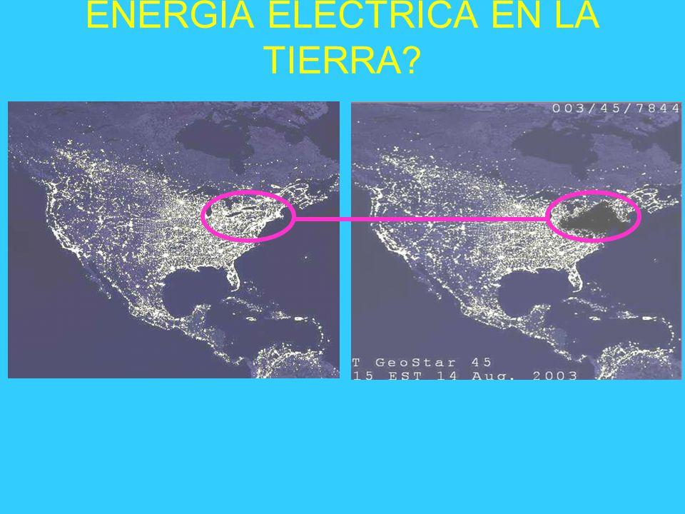 ENERGIA ELECTRICA EN LA TIERRA?