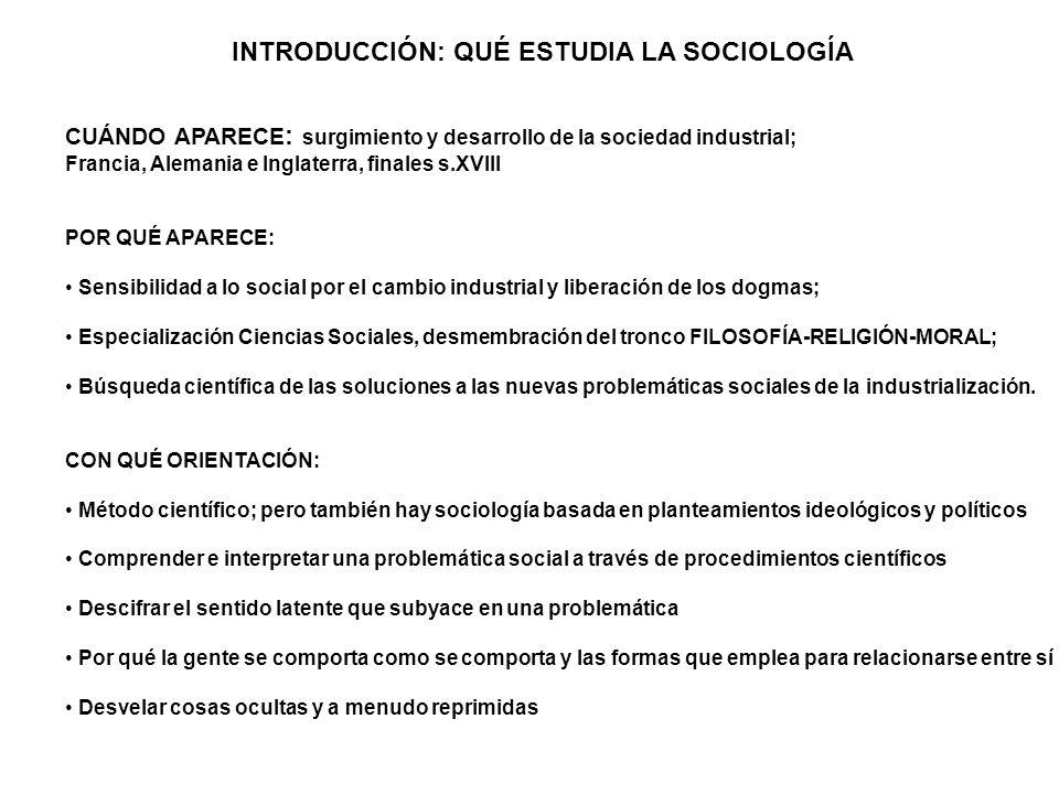 La sociedad: ¿estructura o acción.