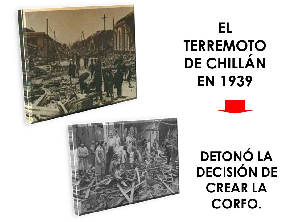 EL TERREMOTO DE CHILLÁN EN 1939 DETONÓ LA DECISIÓN DE CREAR LA CORFO.
