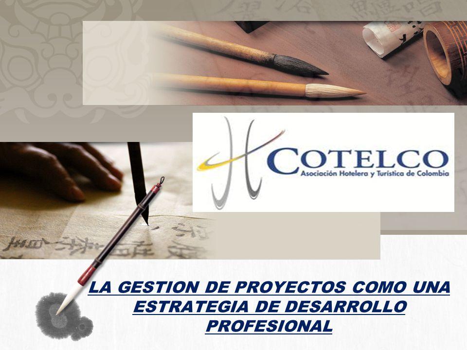 LA GESTION DE PROYECTOS COMO UNA ESTRATEGIA DE DESARROLLO PROFESIONAL