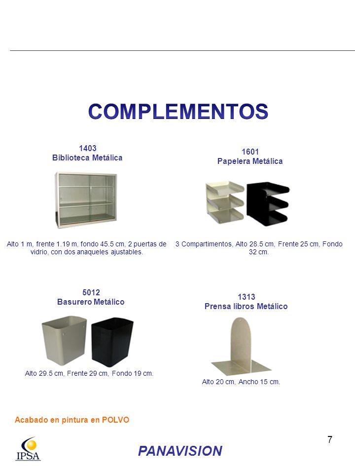 18 TODOS LOS MODELOS DE SILLA GIRATORIA CON RODINES TAMBIEN DISPONIBLES CON BASE METALICA CROMADA 53 cm alto máx.