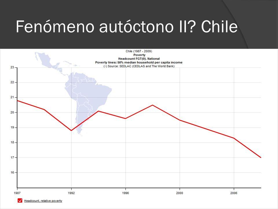 Fenómeno autóctono II Chile