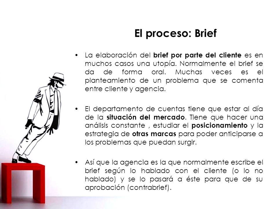La elaboración del brief por parte del cliente es en muchos casos una utopía.