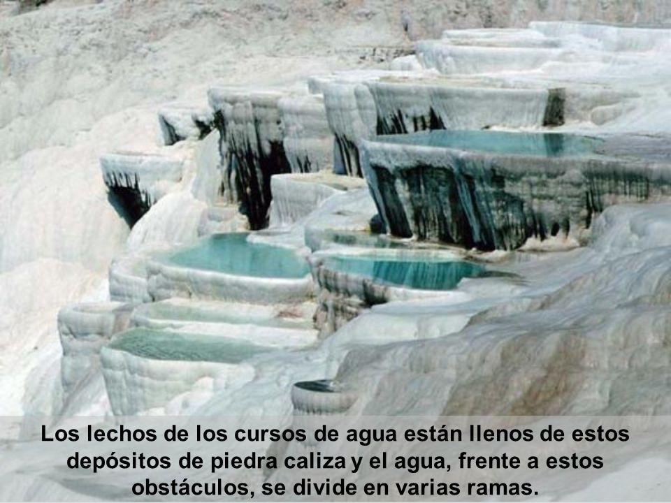 La continua erosión y transformación da como resultado un paisaje natural inusual.