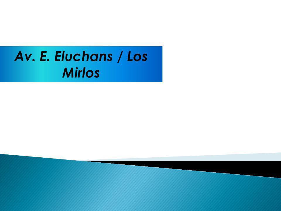 Av. E. Eluchans / Los Mirlos