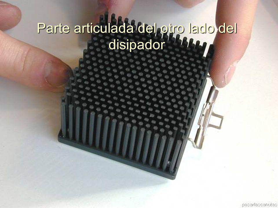 ENSAMBLAJE Y MANTENIMIENTO DE COMPUTADORAS ENSAMBLAJE DE COMPUTADORA UNIVERSIDAD CATOLICA BOLIVIANA SAN PABLO GESTIÓN - 2006 Clip montado en el disipador