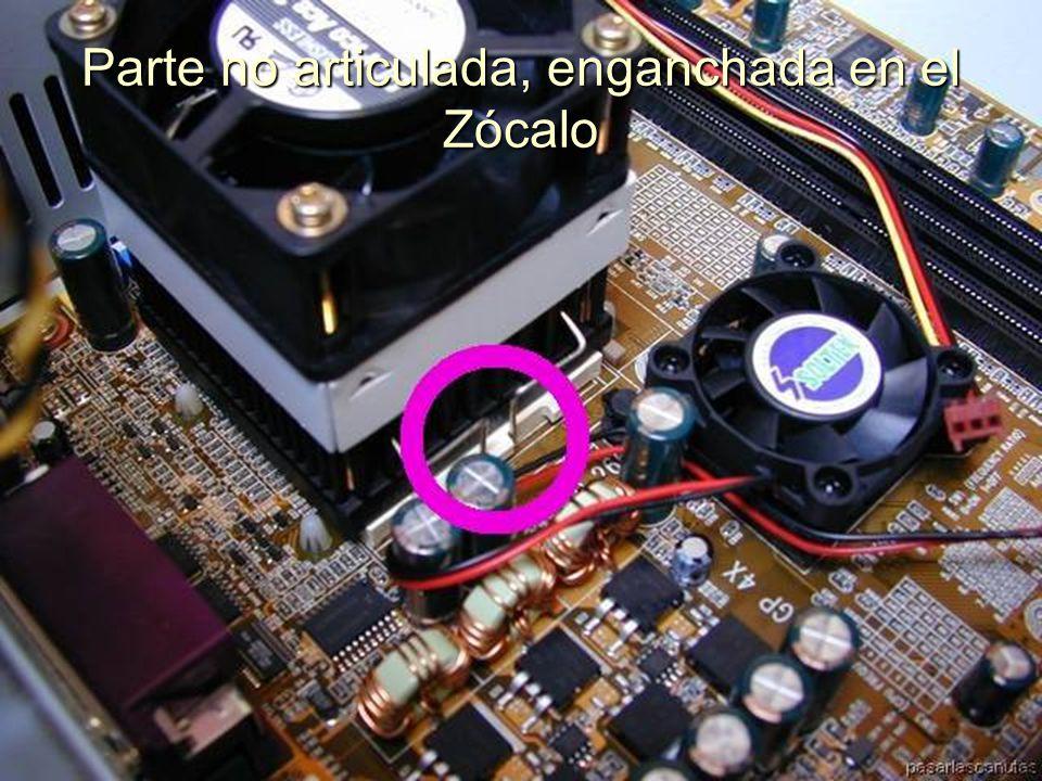 ENSAMBLAJE Y MANTENIMIENTO DE COMPUTADORAS ENSAMBLAJE DE COMPUTADORA UNIVERSIDAD CATOLICA BOLIVIANA SAN PABLO GESTIÓN - 2006 Probamos el disipador sobre el Zócalo de la CPU