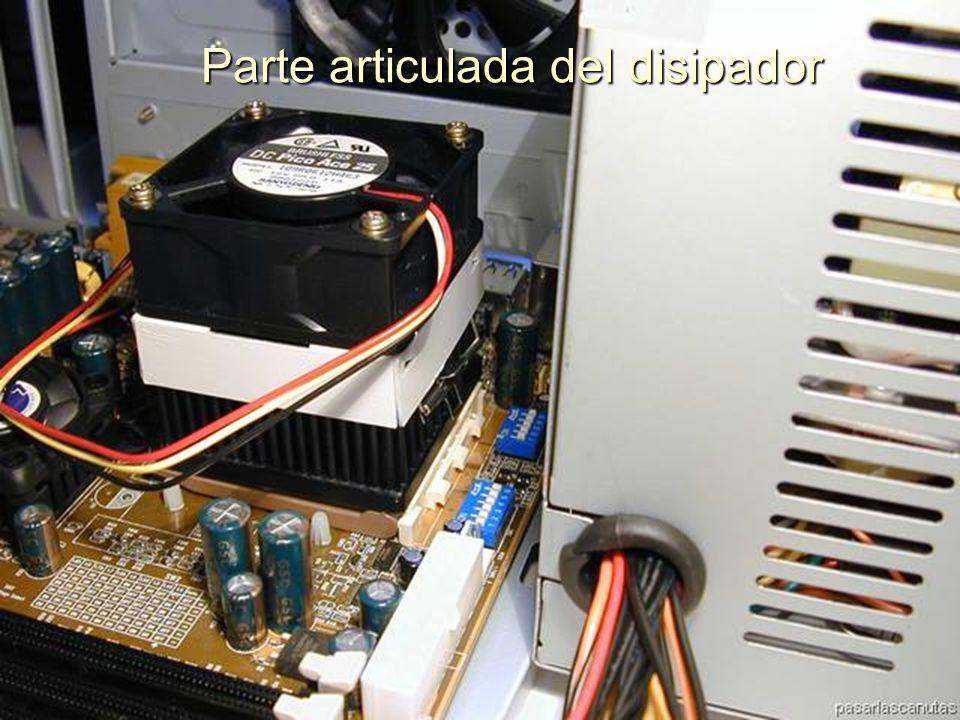 ENSAMBLAJE Y MANTENIMIENTO DE COMPUTADORAS ENSAMBLAJE DE COMPUTADORA UNIVERSIDAD CATOLICA BOLIVIANA SAN PABLO GESTIÓN - 2006 Parte no articulada, enganchada en el Zócalo